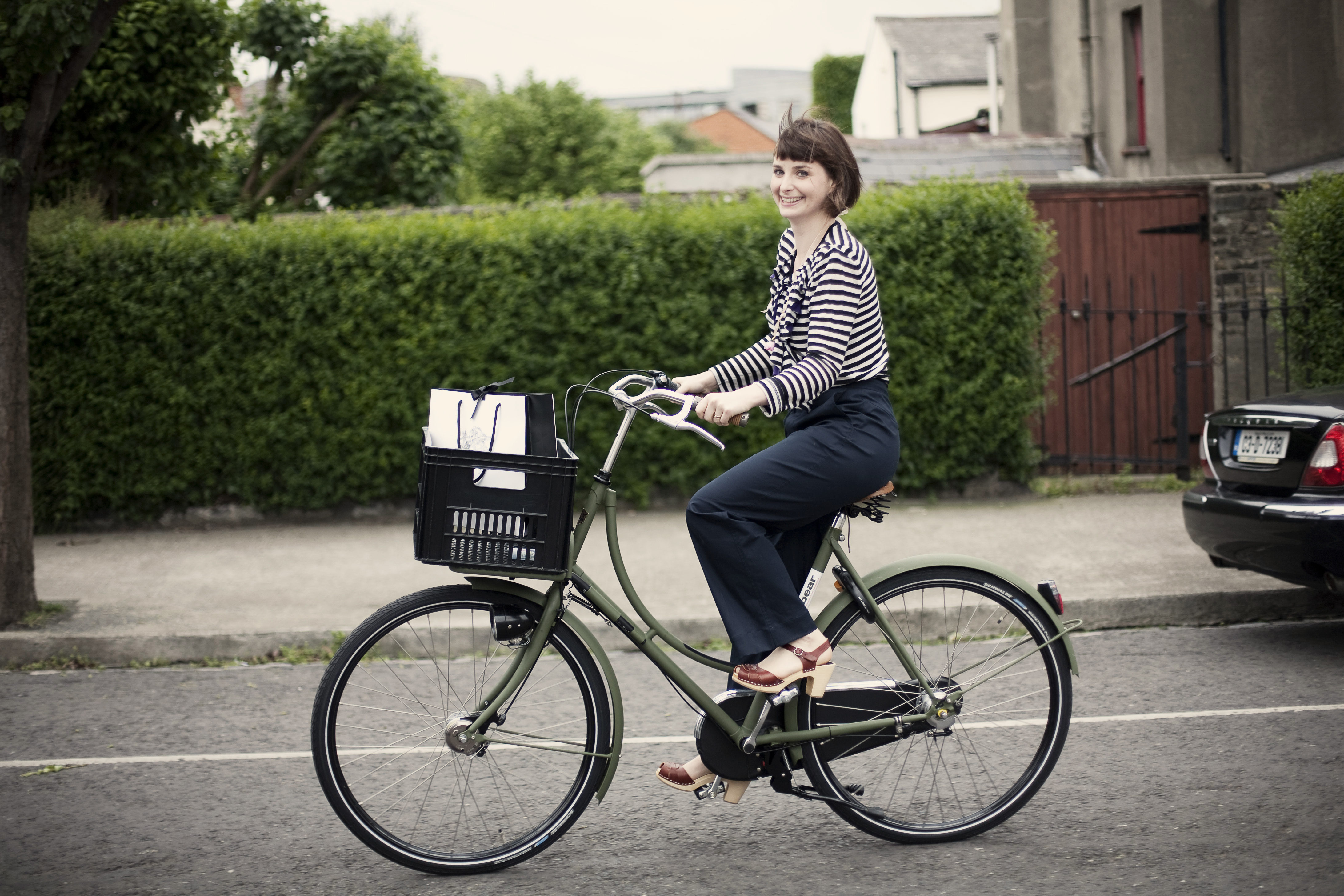 dutch bicycles and fashion at dolls dublin 3